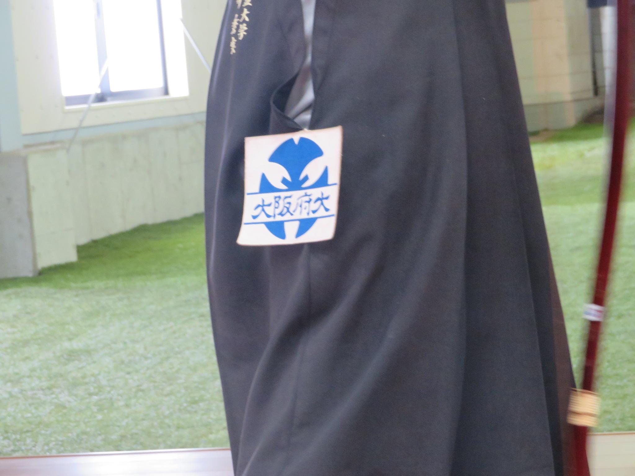対戦する大阪府立大学は本学以上に長い歴史のある弓道伝統校です