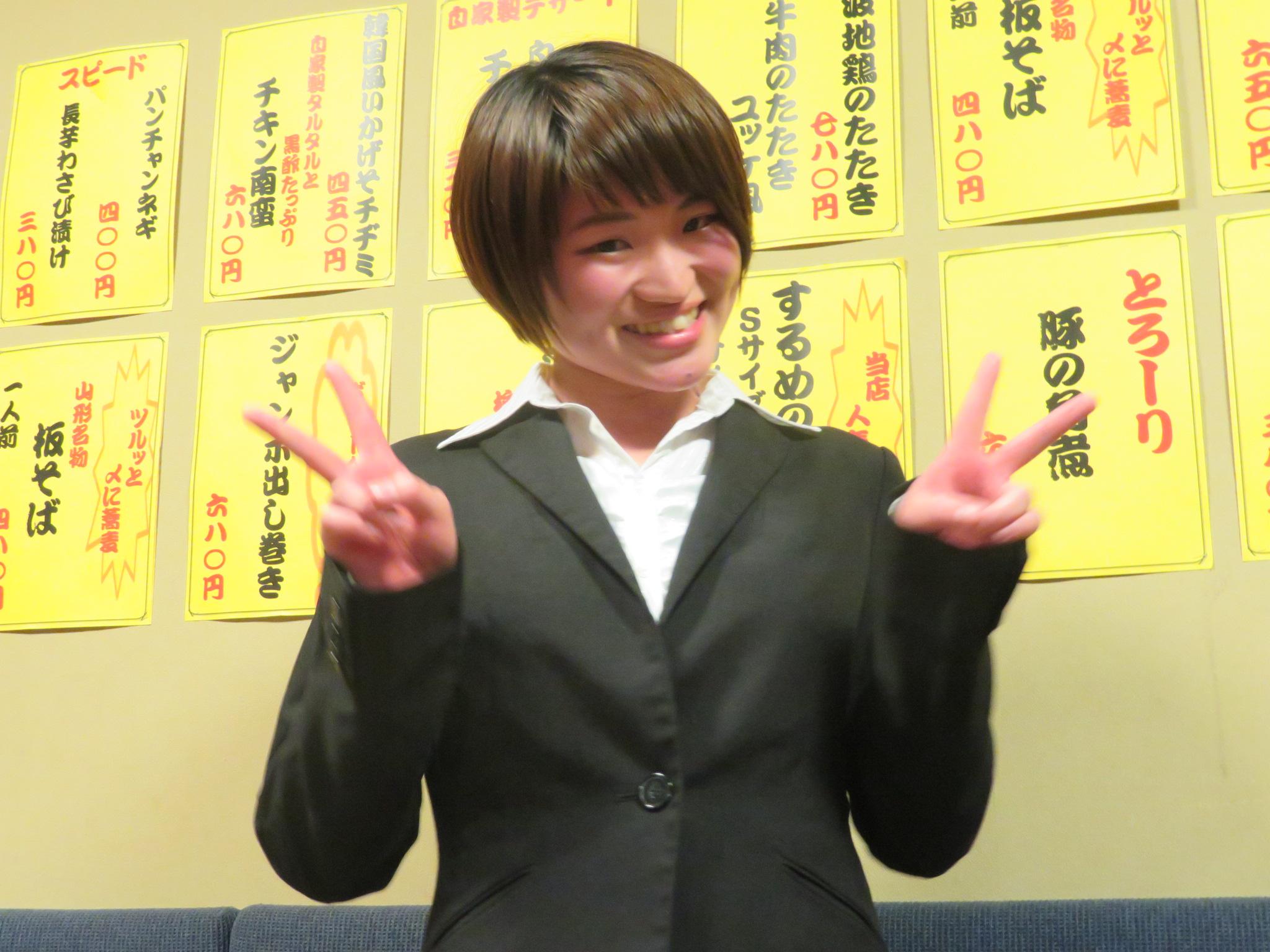浦戸さん(本日のベストショット)