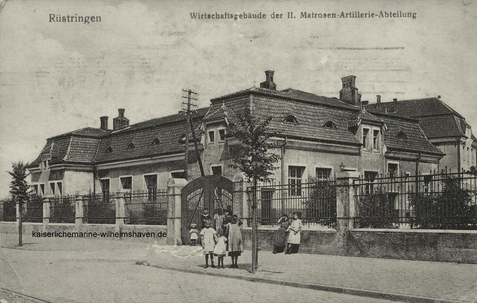 Wirtschaftsgebäude der II. MAA am nördlichen Ende der Kaserne an der Ecke Hegelstraße