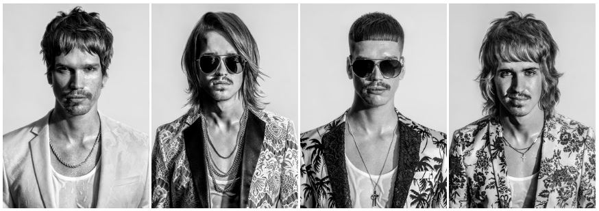 Herren Collection MIAMI VICE by Alexander Lepschi - Hairdresser of the Year 2019