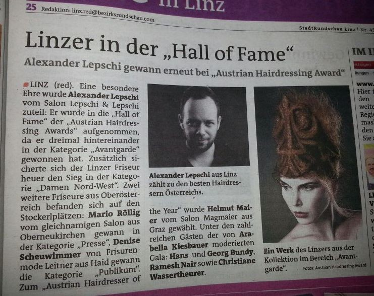 Bericht der Stadtrundschau Linz KW45