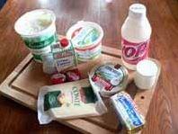 Etude des produits laitiers