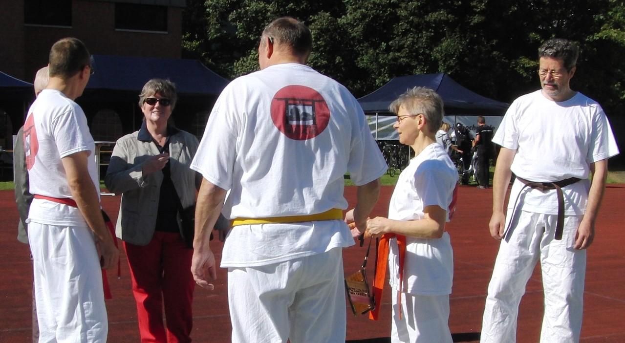 """Shiruba - Shiruba-Jiu-Jitsu beim Aktionstag des SSB Bochum """"Bewegt älter werden"""""""