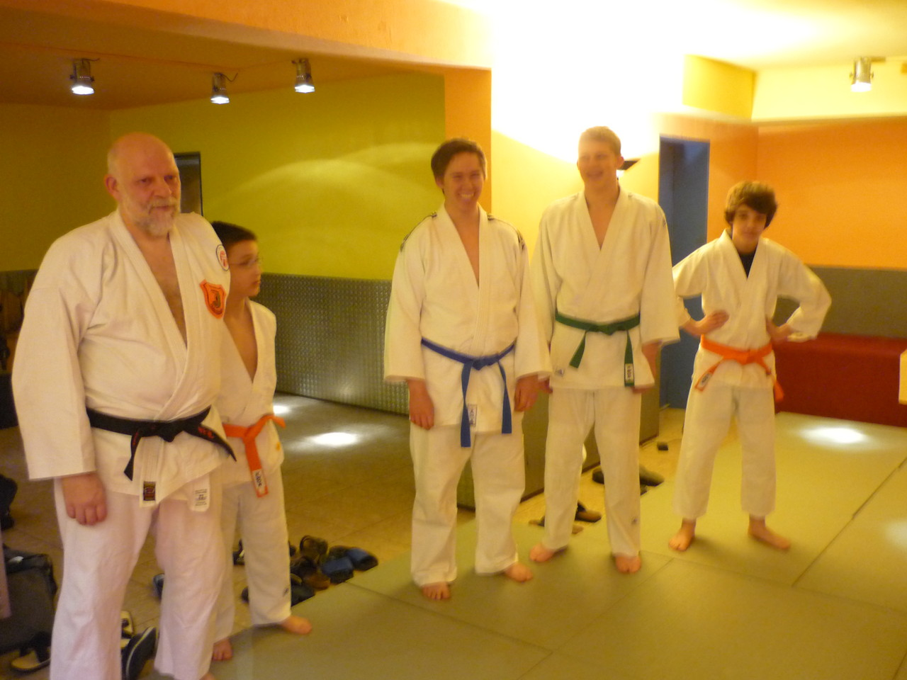 Besuch vom Judo Club Holzwickede