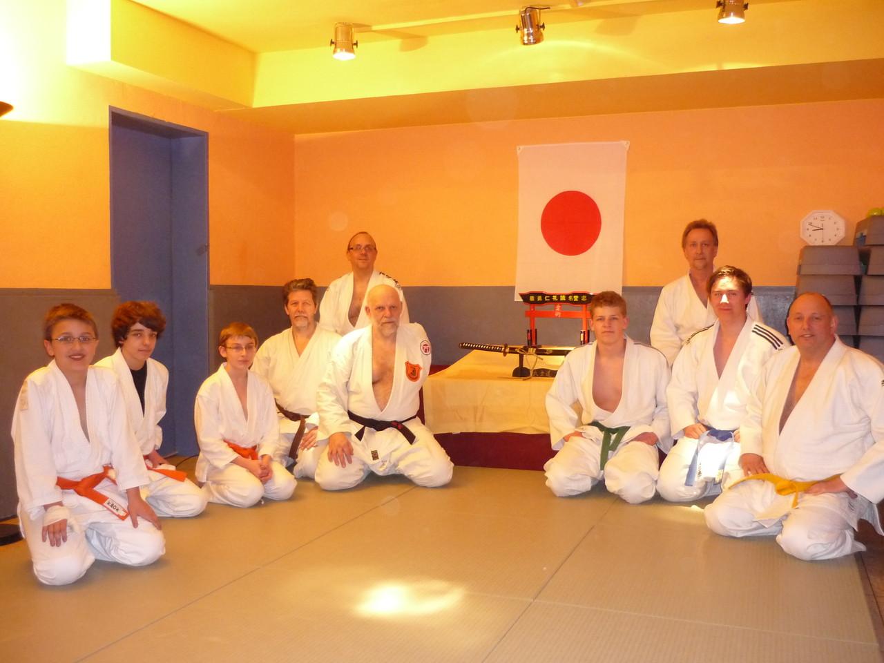 Erinnerungsfoto - Judo Club Holzwickede und Zen-Ki-Budo