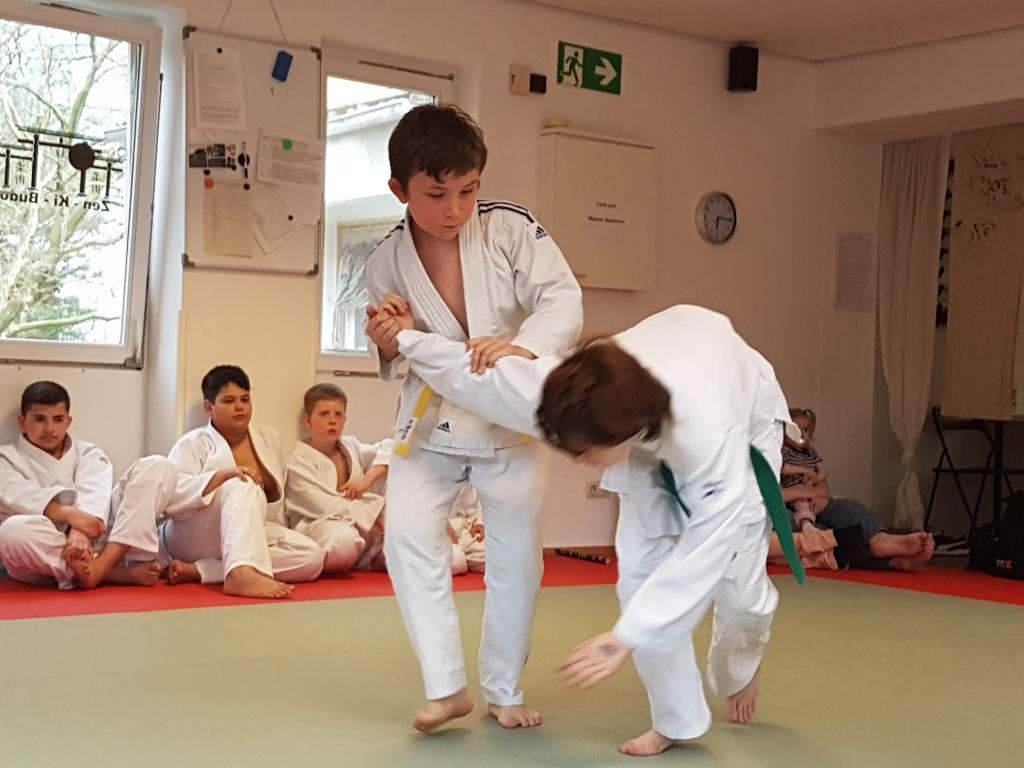 Jiu Jitsu - Selbstverteidigung für Jugendliche - Dragons - Zen-Ki-Budo - Herne - Bochum - Wanne-Eickel - Gelsenkirchen