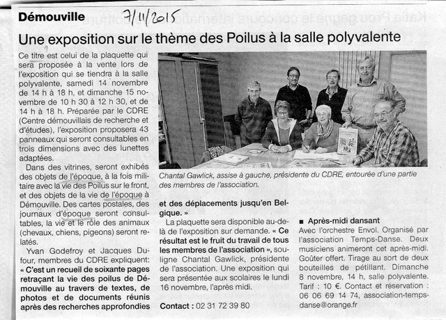 Ouest-France 7/11/2015