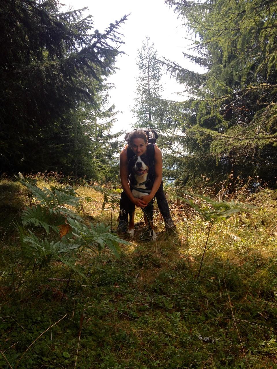 Mit Freunden in der Steiermark: Sarah und Hugo