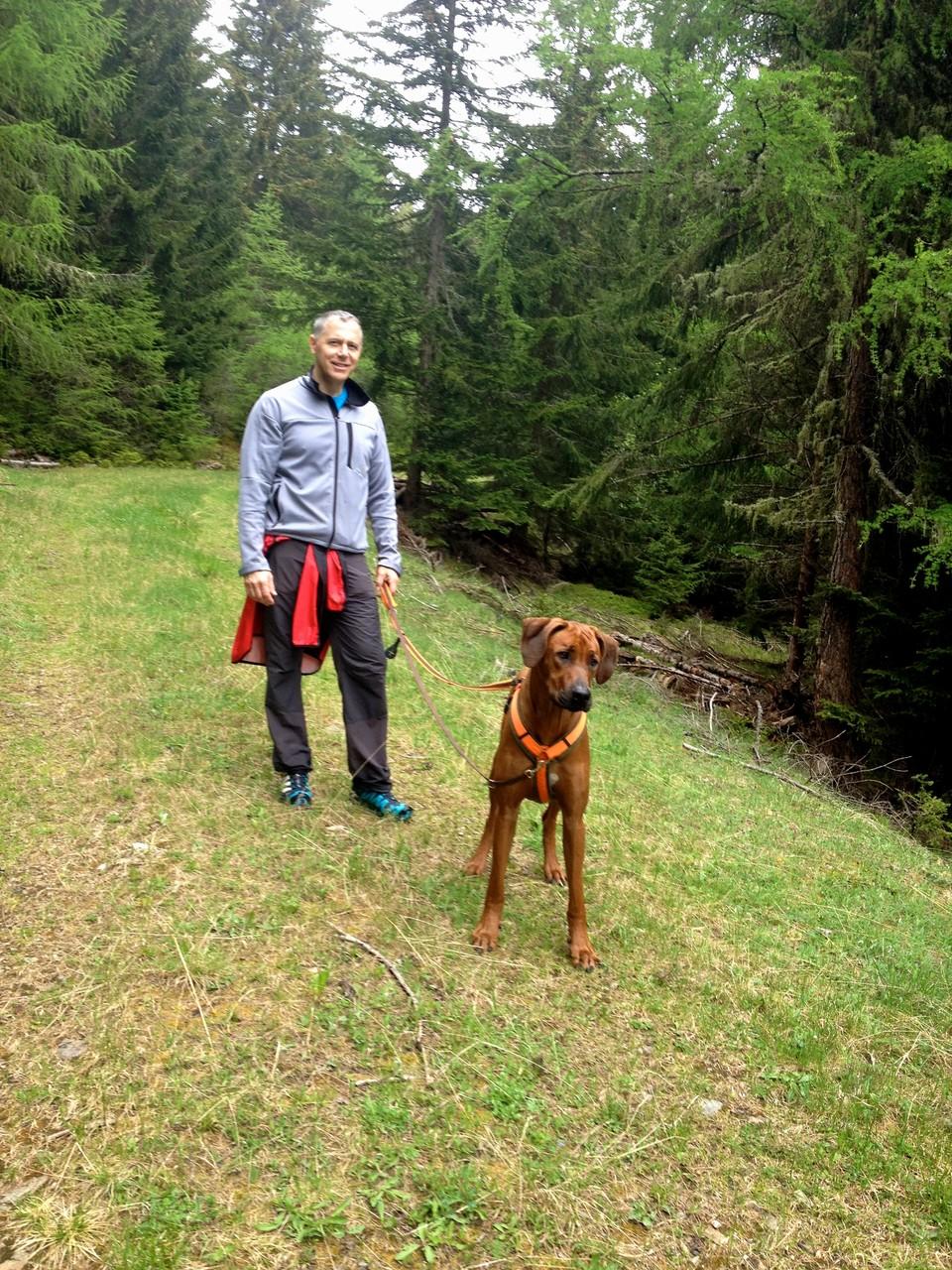 Herrchen und King of Woods...