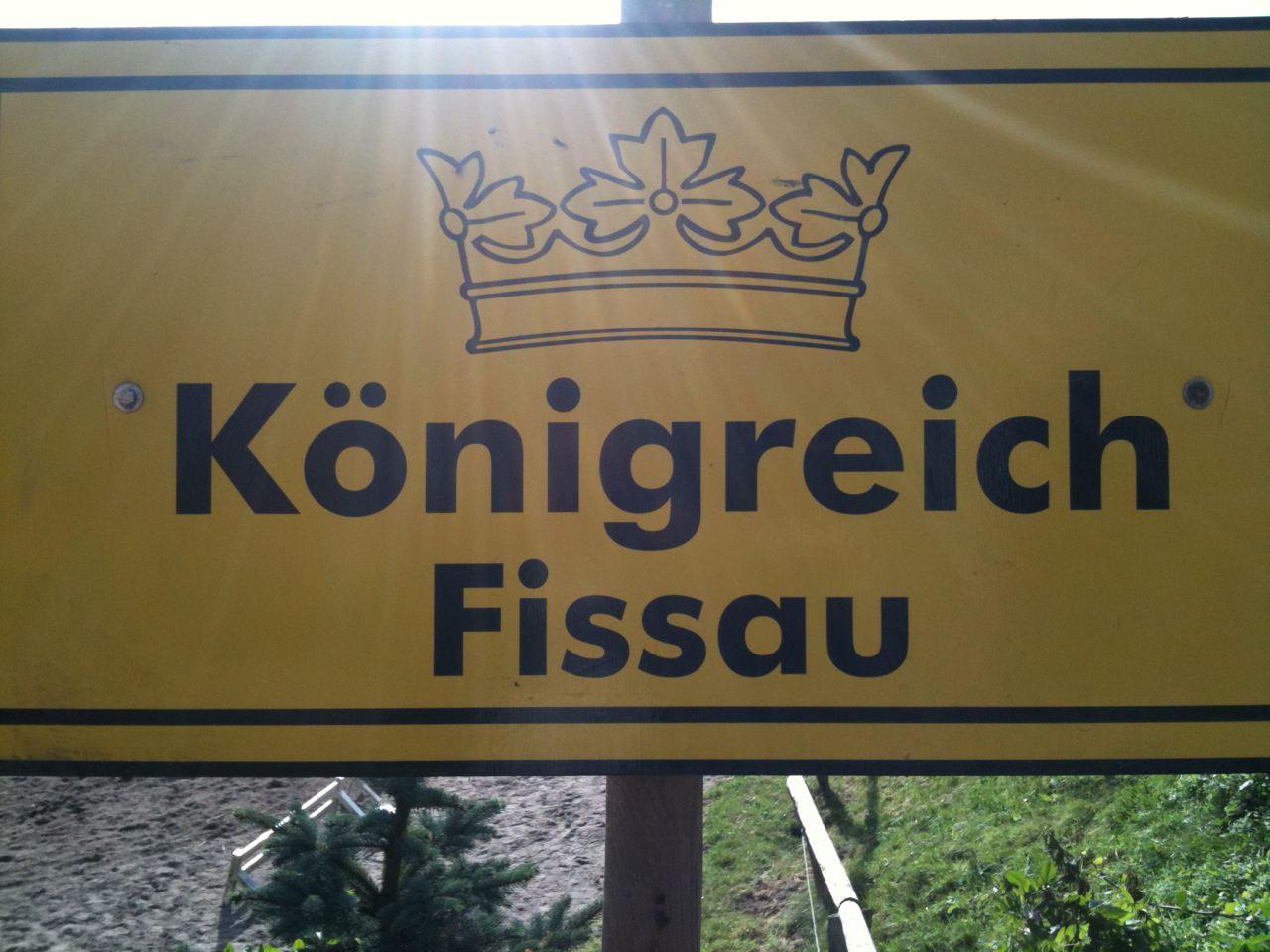 das Königreich Fissau besuchen,