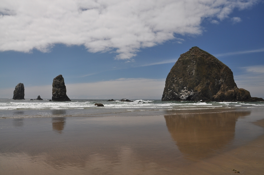 Cannon Beach an der Orgeon Coast