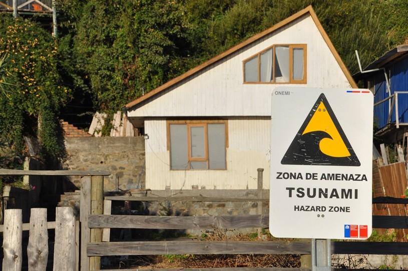 Tsunami Gefahr