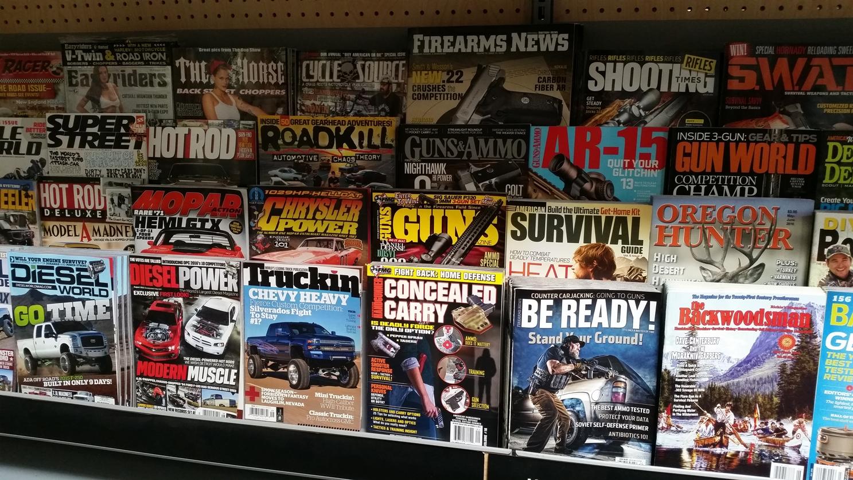 Männerzeitschriften - Nur Pick-Ups, Waffen und Jagen