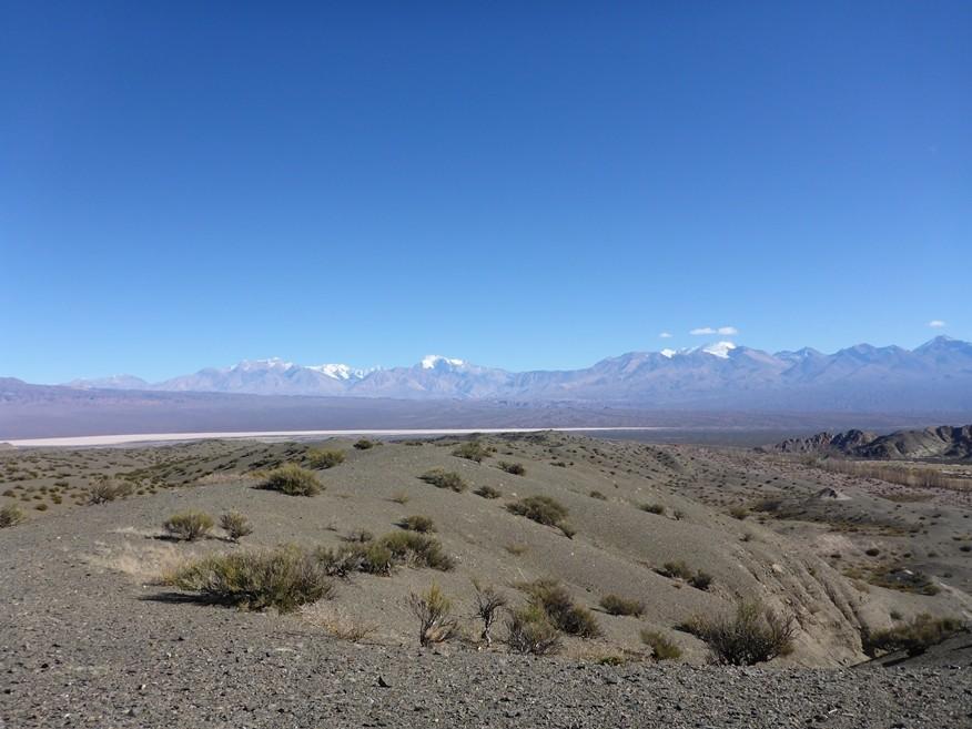 Bergpanorama mit einigen 6000er