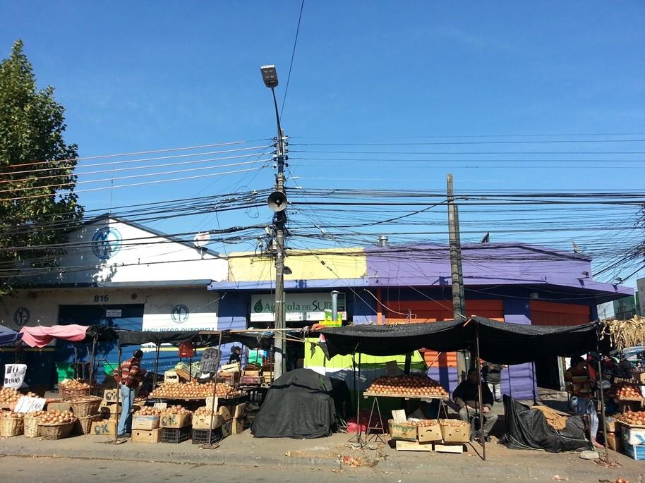 Farbiger Markt