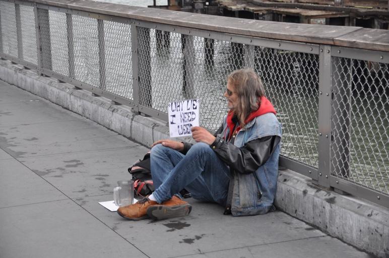 Homeless gibt es auch in Kalifornien viele