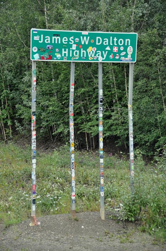 Der Dalton Highway führt bis ans Polarmeer