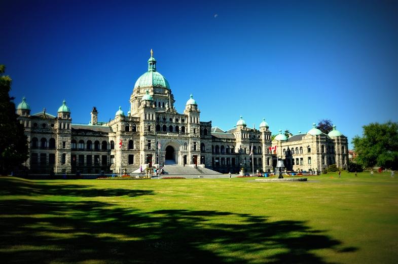Das Regierungsgebäude in Victoria