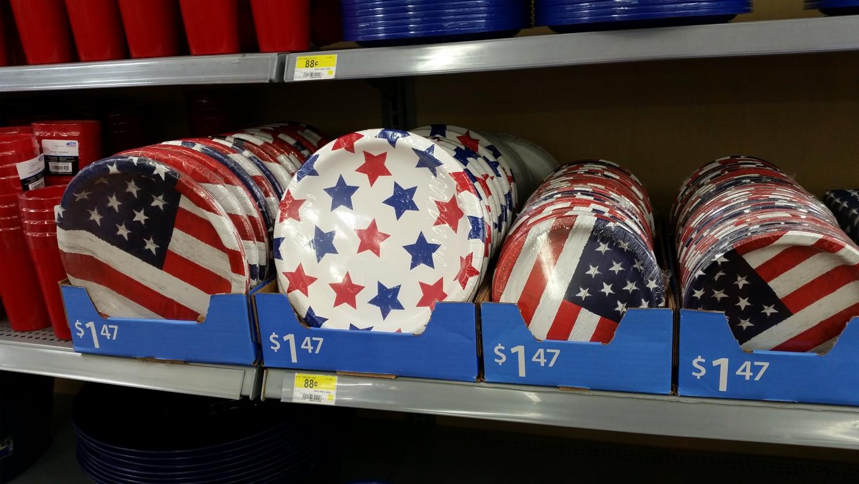Stars & Stripes gibts überall