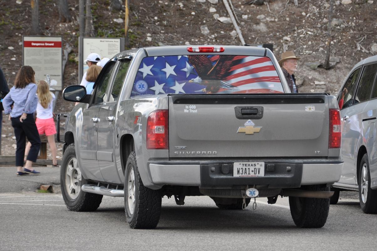 Flaggen und Patriotismus an jeder Ecke!