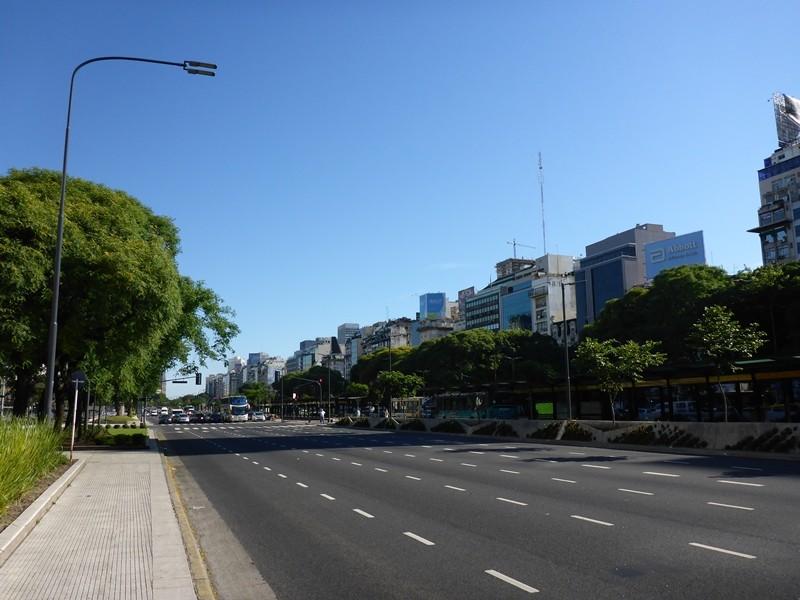 Avenida 9. de Julio in Buenos Aires
