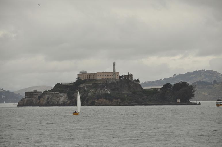 Die Gefängnissinsel Alcatraz