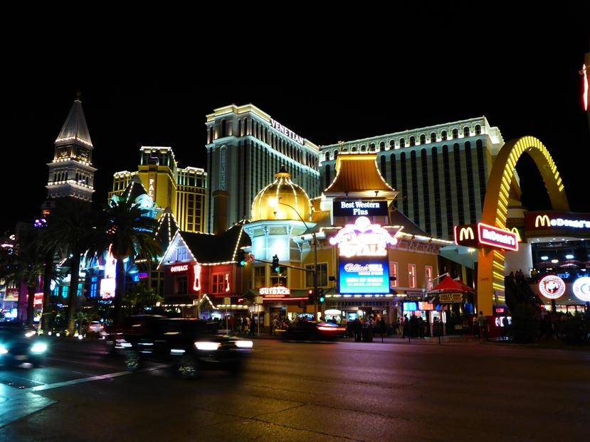 Bei Nacht ist Las Vegas am schönsten