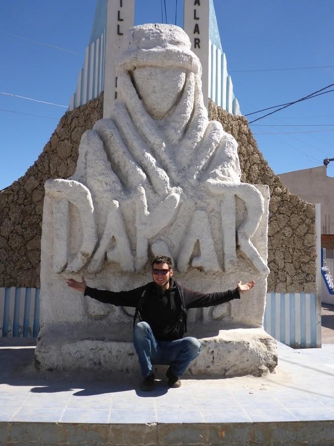 Die Bolivianer sind stolz auf die Dakar!