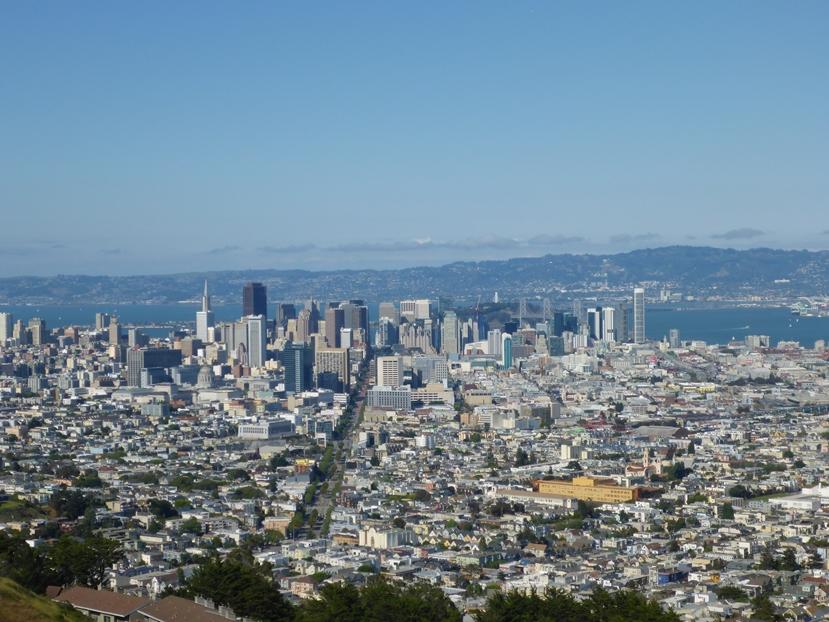 Blück über San Francisco