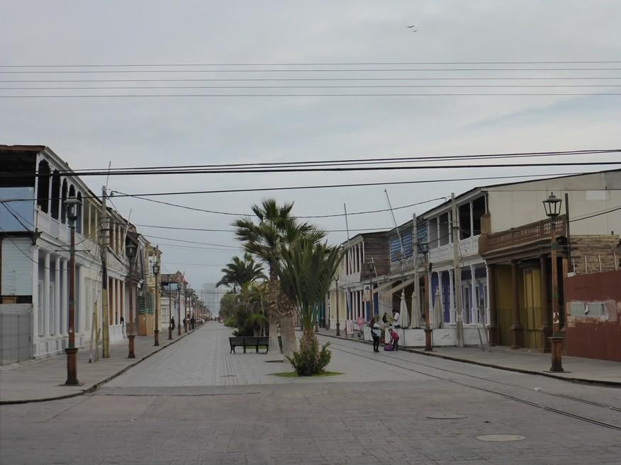 Koloniale Bauten in Iquique