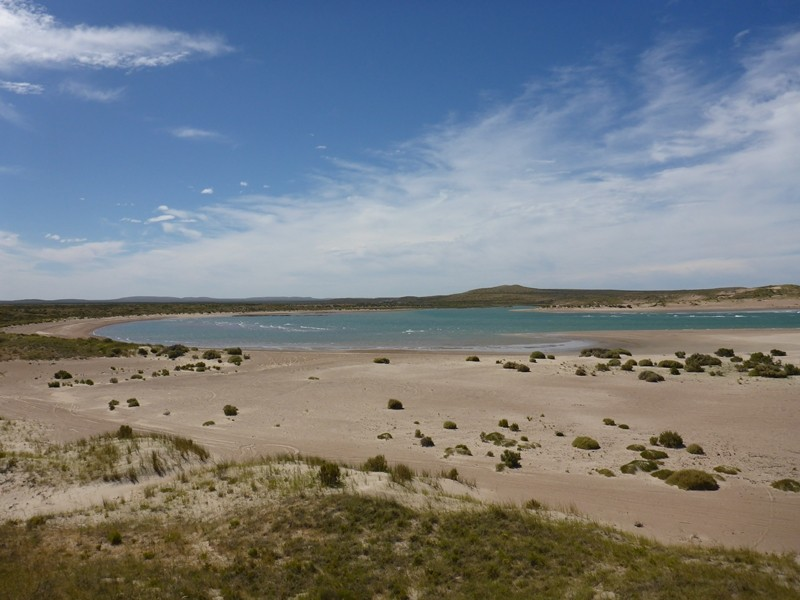 Lagune in Playa Doradas
