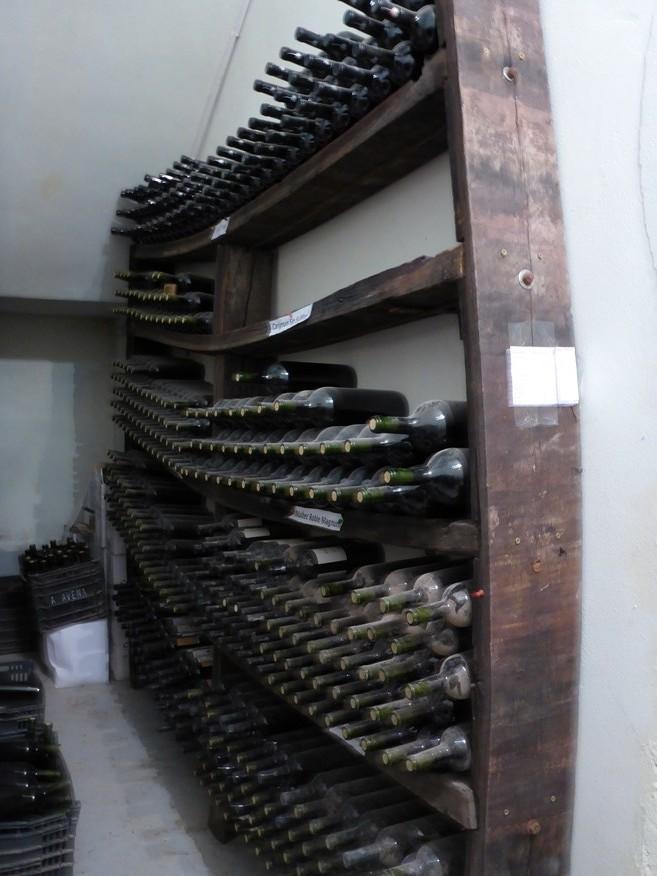 Weinlager des Besitzers