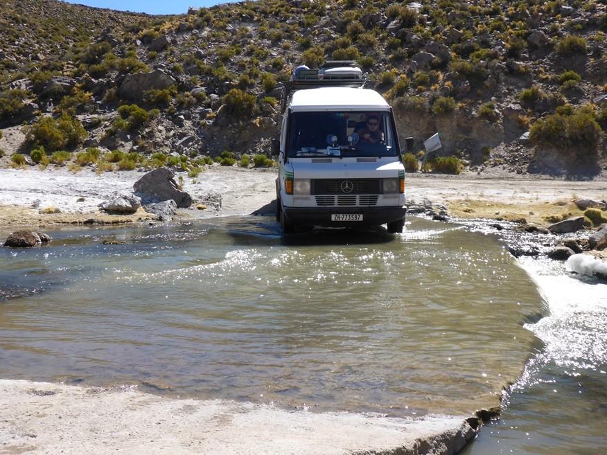 Viele Flussdurchfahrten stehen an!