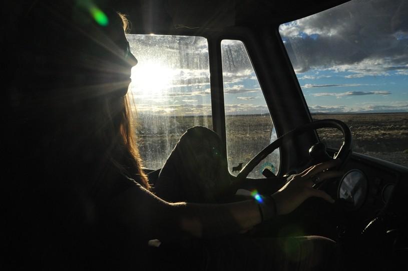 Fahren und die Landschaft bestaunen