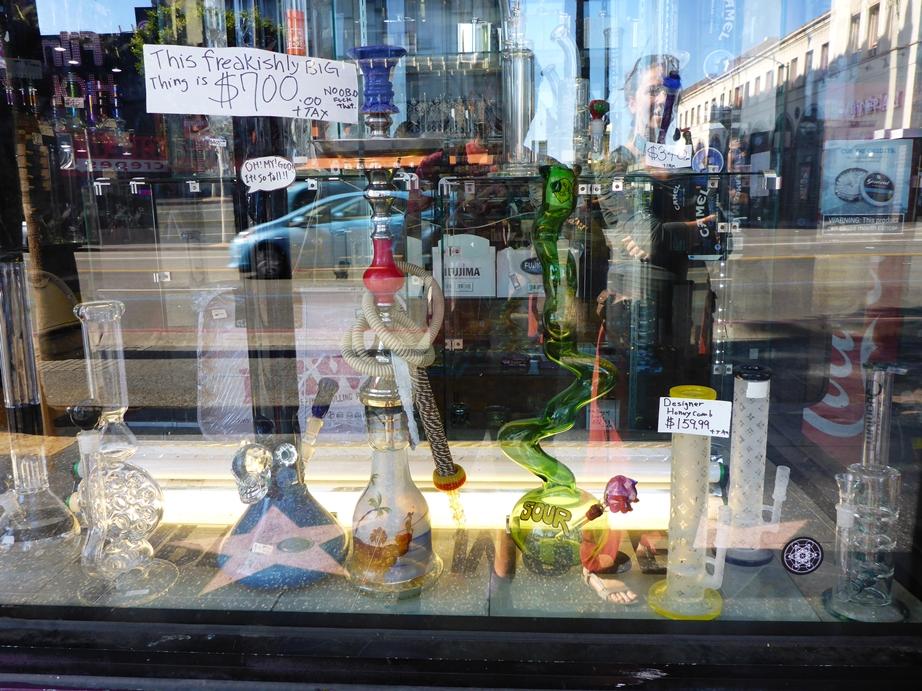 Smoke Shops gibt es an jeder Ecke