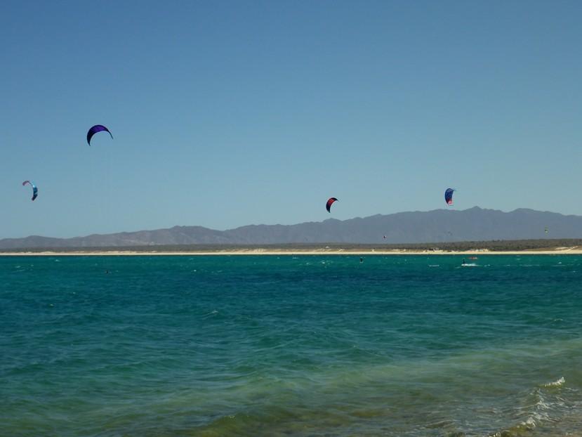 Die schöne Kitesurfbucht