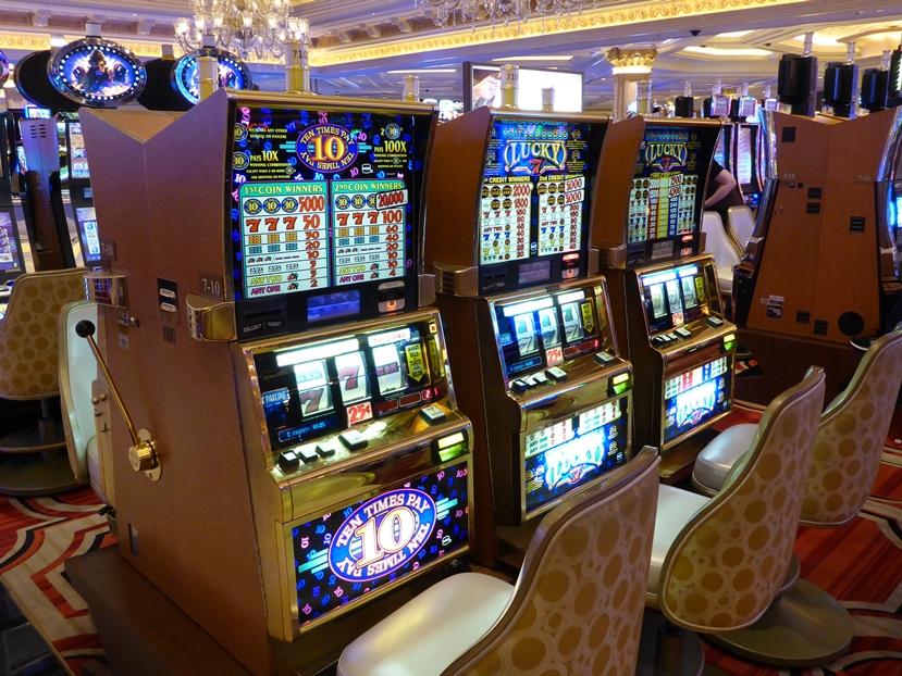 """Die """"Einarmigen Banditen"""" dominieren die Casinos"""