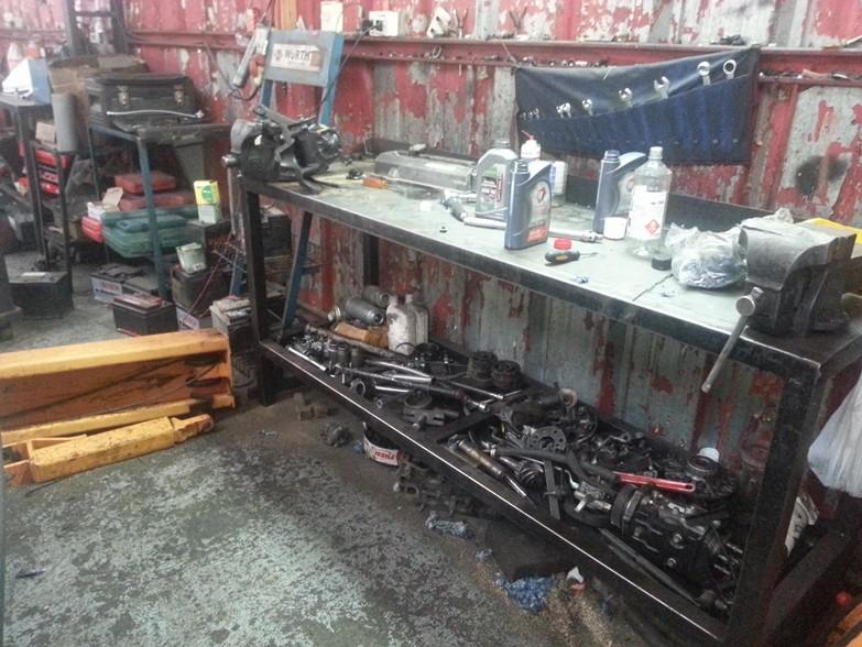 Durchschnittliche chilenische Werkstatt