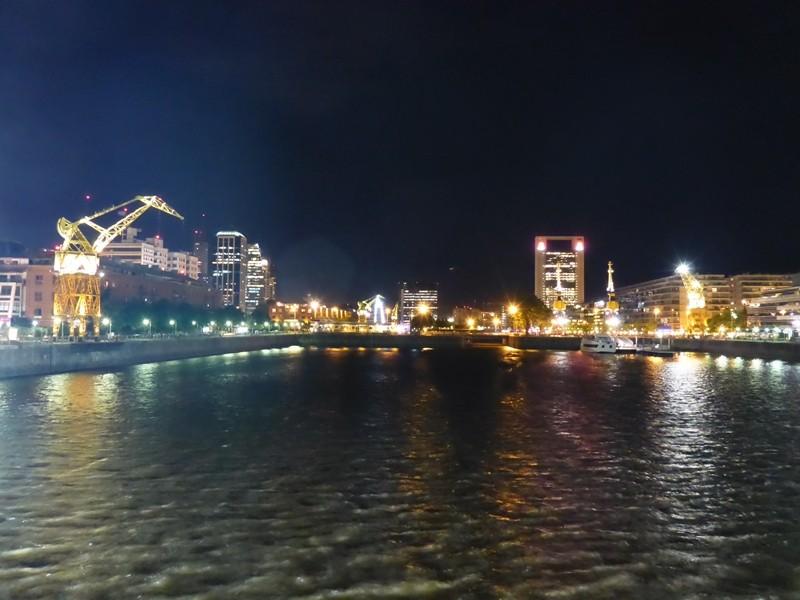 Puerto Madero bei Nacht