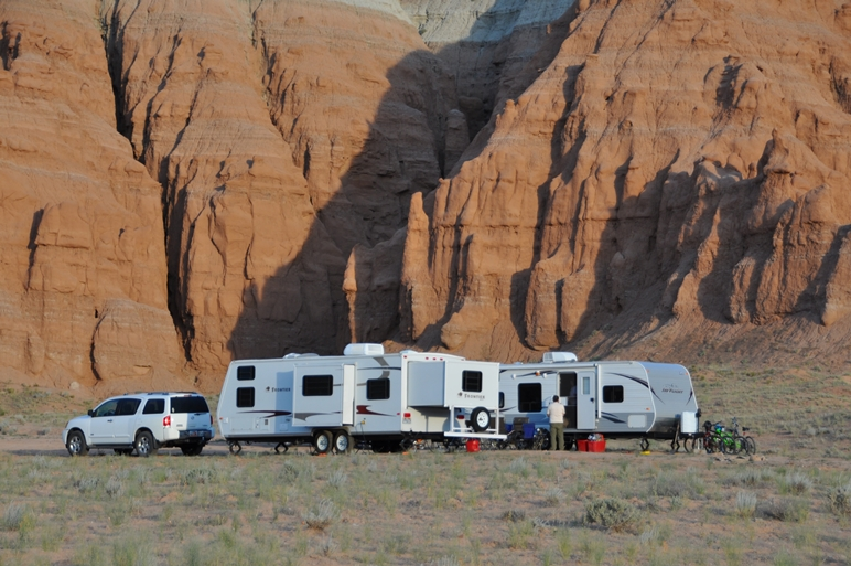 Wild campen in den USA