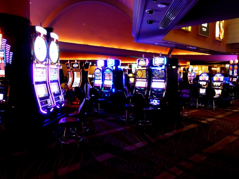 Casinos und einarmige Banditen gibts überall