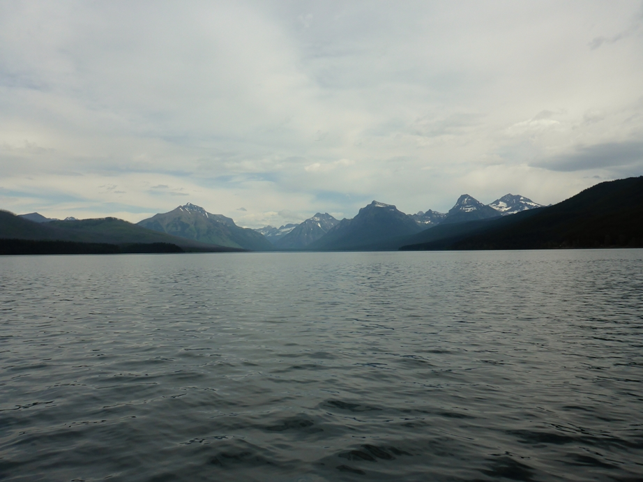 Blick über Lake McDonald