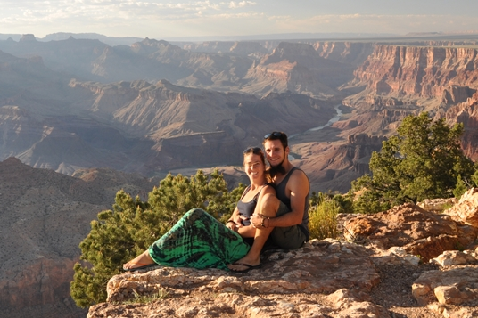 Die Verwegenen vor dem Grand Canyon
