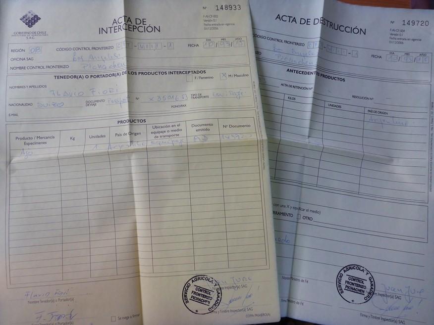 Dokumentenkrieg für Knoblauch ;-)