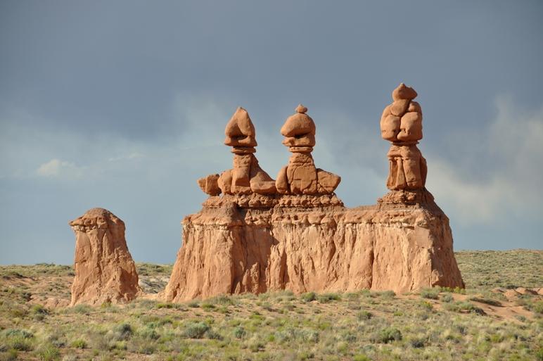 Die drei Goblins im Goblin Valley