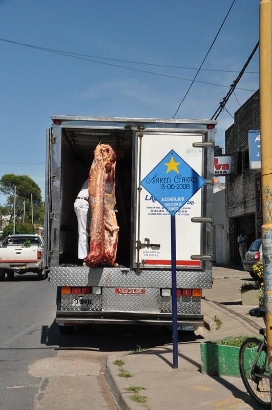 Fleischlieferung