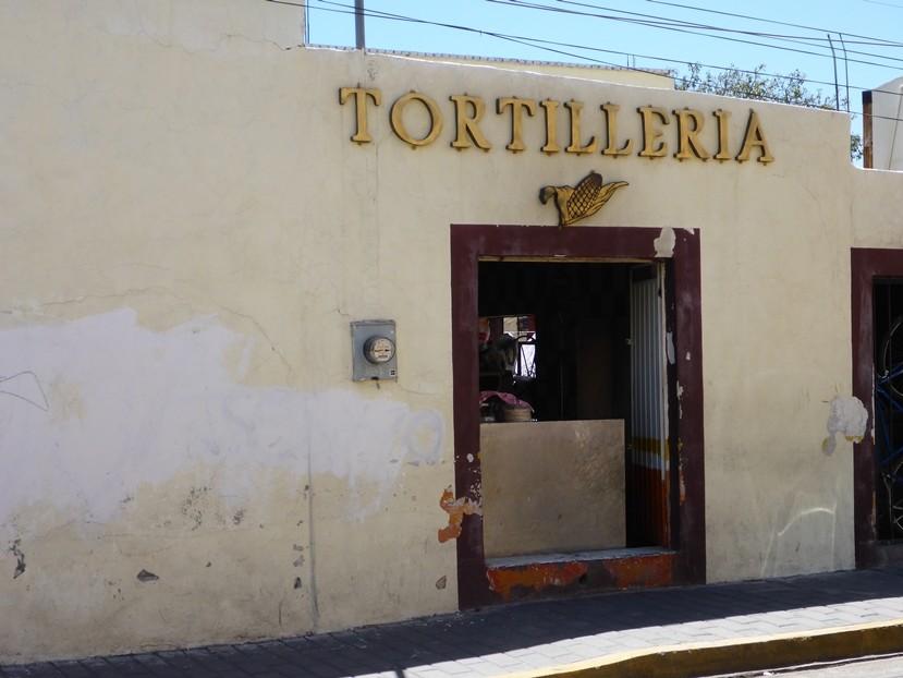 Tortillas sind das wichtigste Nahrungsmittel