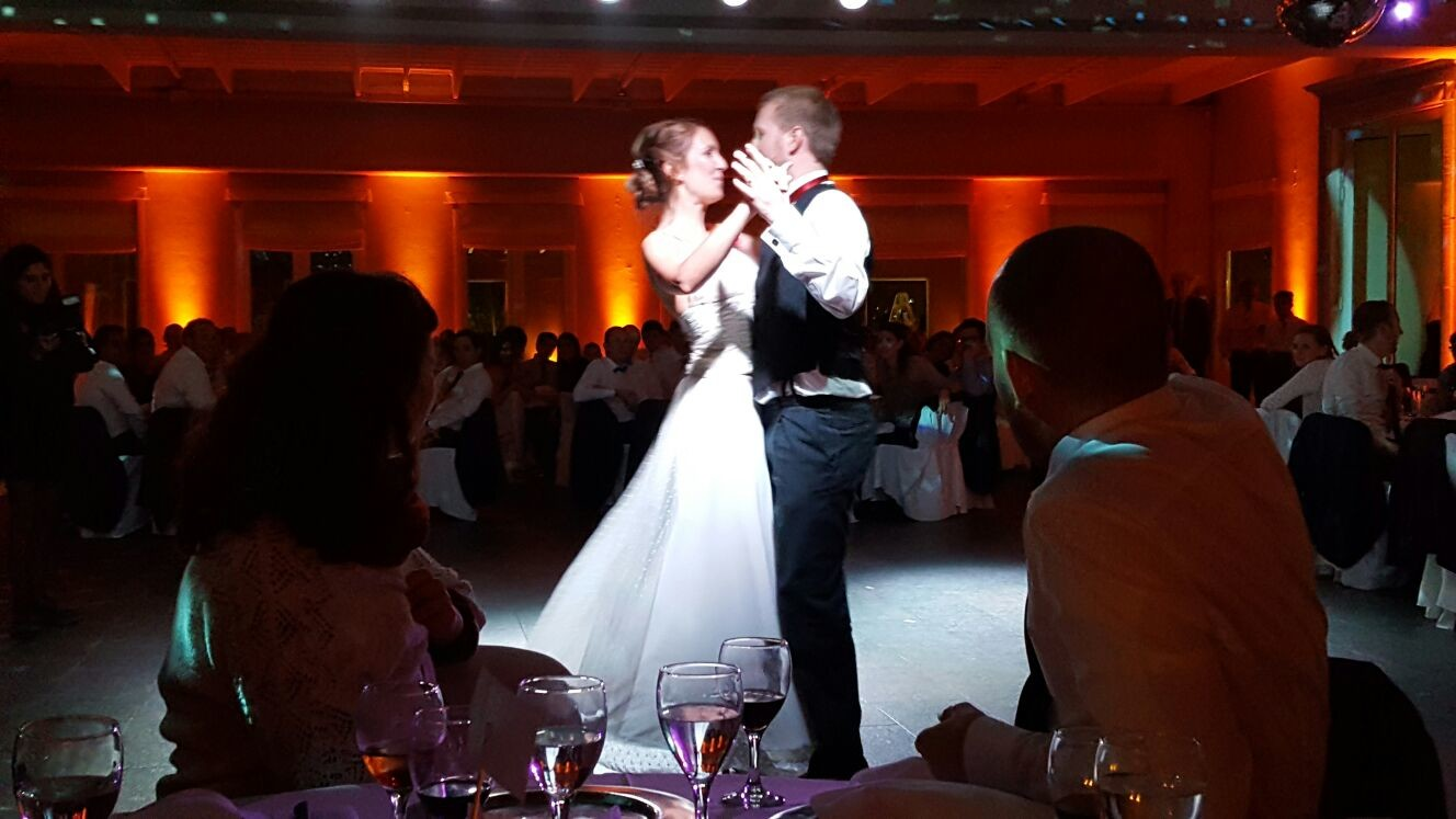Das Brautpaar Cata & Luke