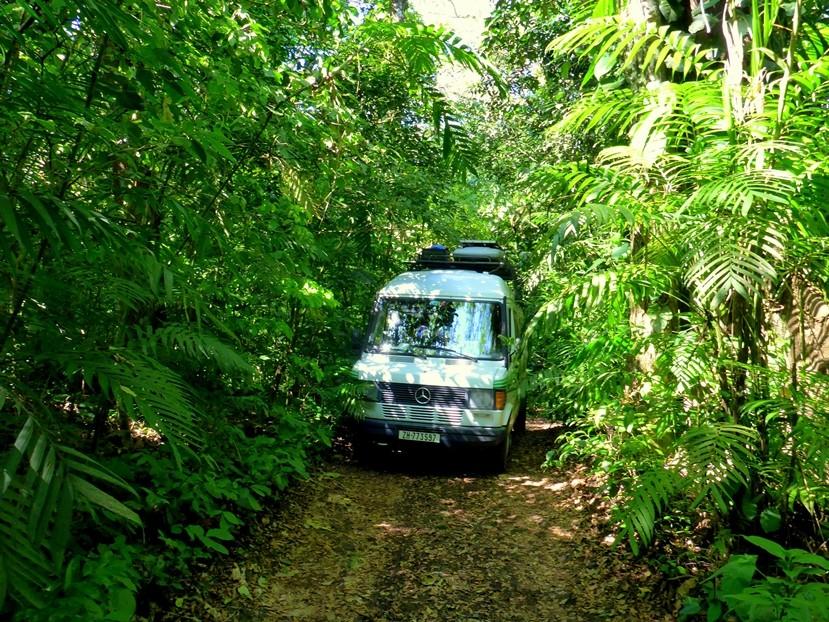 Auf dem Weg zur Laguna de Catemaco