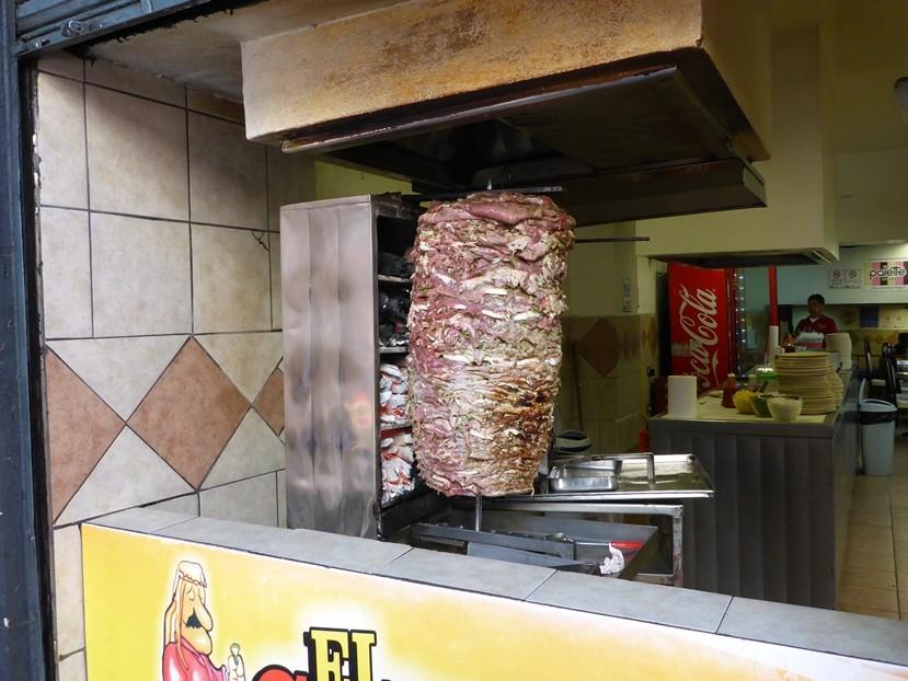 Taco Arabica wird hier der Kebab genannt
